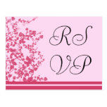 RSVP Wedding Romantic Rose Postcards
