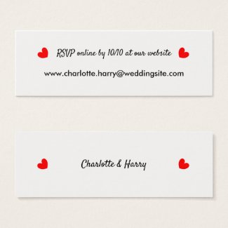 RSVP Wedding Website Personalized