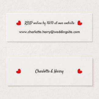 RSVP Wedding Website Personalized