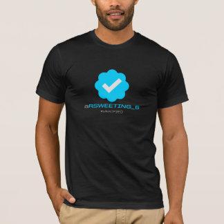 @RSweeting_6 - Verified - Black T-Shirt