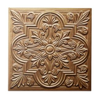 RT059 Faux-Relief Antique Reproduction Tile