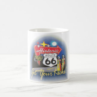 rt66 classic white coffee mug