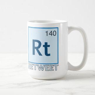 RT 140 / Retweet Element Coffee Mug