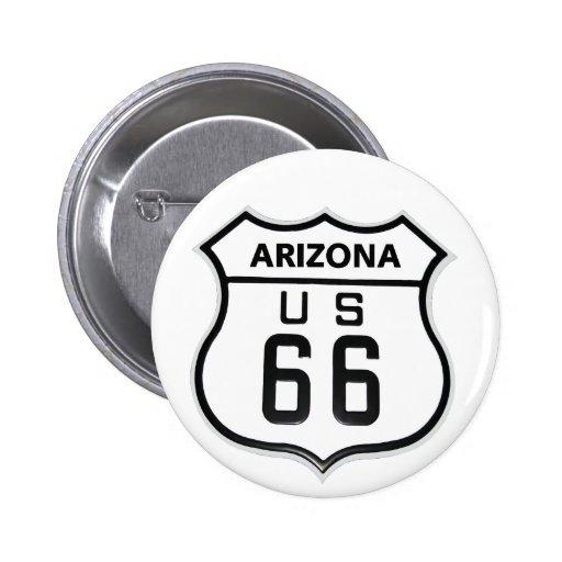 RT 66 Arizona Pins