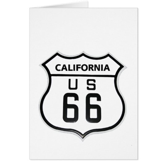RT 66 California Card