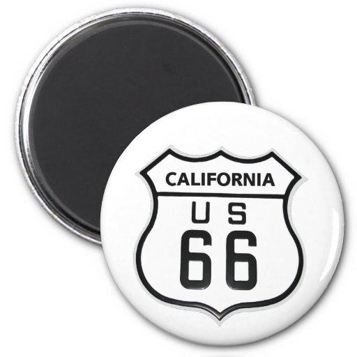 RT 66 California Magnet