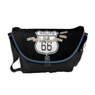 RT 66 messenger bag