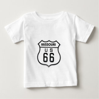 RT 66 Missouri Playeras