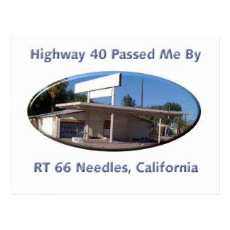 Rt 66 Needles Postcard