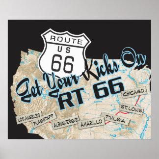 RT 66 Poster