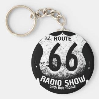 RT 66 Radio Show Keychain