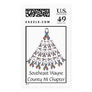 RT, capítulo suroriental del condado de Wayne MI Sello