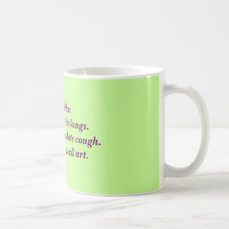 RT Haiku: Deep Mucous Coffee Mug
