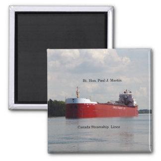 Rt. Hon Paul J. Martin magnet