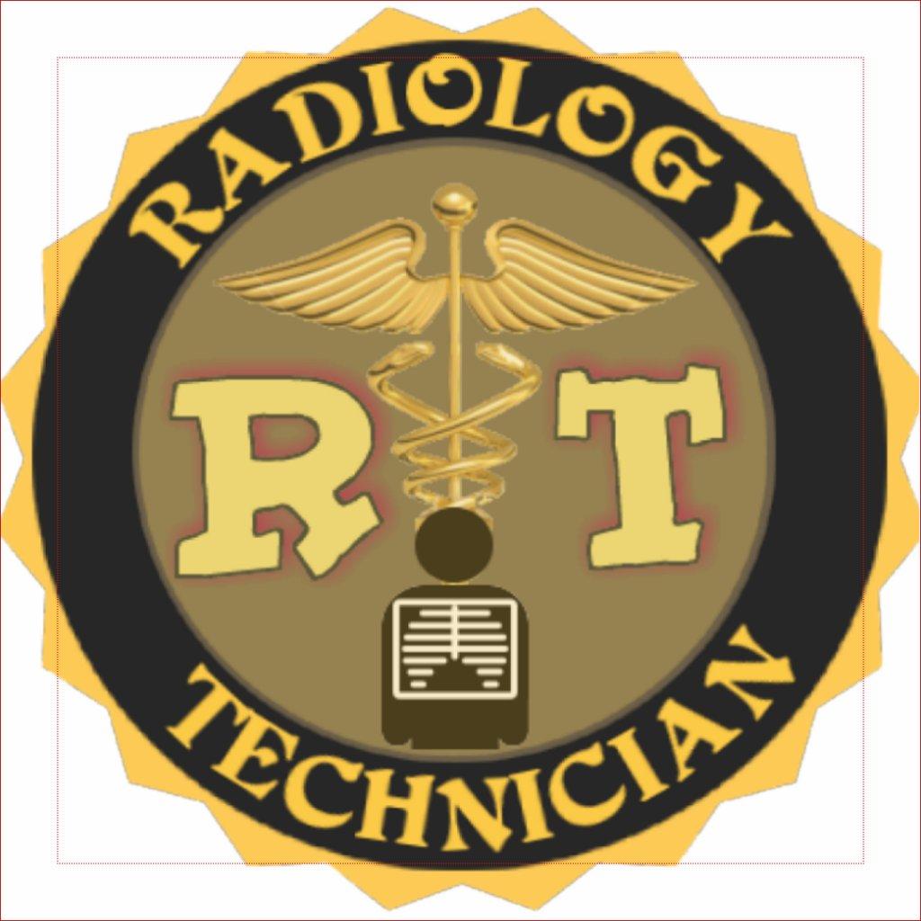 Radiology symbol pink rt radiology technician badge buycottarizona Image collections