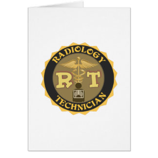 RT RADIOLOGY TECHNICIAN BADGE - LOGO CARD