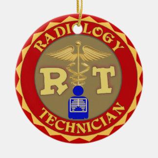 RT RADIOLOGY TECHNICIAN CHRISTMAS ORNAMENT X-RAY