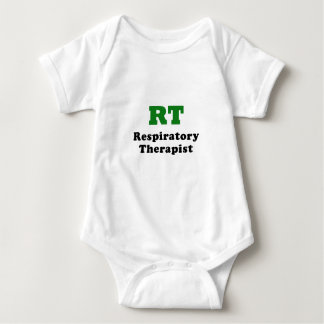 RT Respiratory Therapist Baby Bodysuit