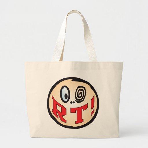RT Text Head Canvas Bag