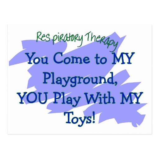 RT You come to MY playground play MY TOYS Postcard