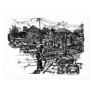 RTA Shaker Square Postcard
