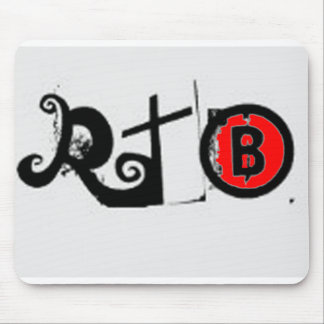 RTB  Real Talk with Brandon LOGO Mouse Pad