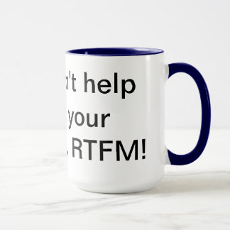 RTFM 15oz Mug