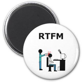 RTFM 2 INCH ROUND MAGNET