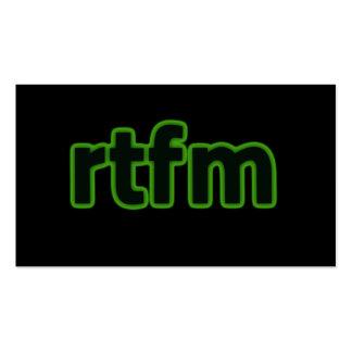 rtfm Business Card