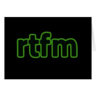 rtfm card