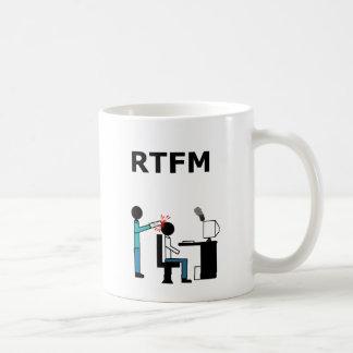 RTFM COFFEE MUG