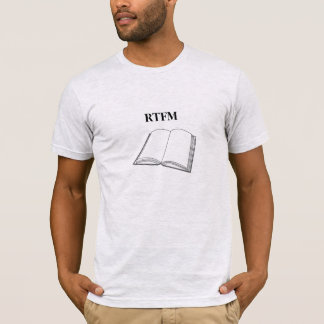 RTFM Funny and cool, geeky t-shirt