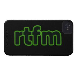 rtfm iPhone 4 Case