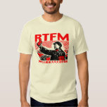 RTFM Mao's Little Red Book Tshirts