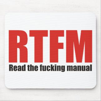 RTFM MOUSE PAD