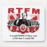 RTFM Mousepad de Mao Tapete De Ratones