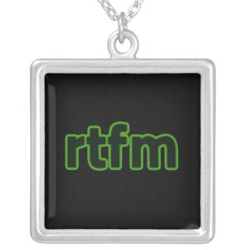 rtfm Necklace
