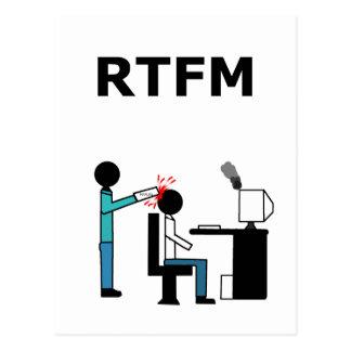RTFM POSTCARD