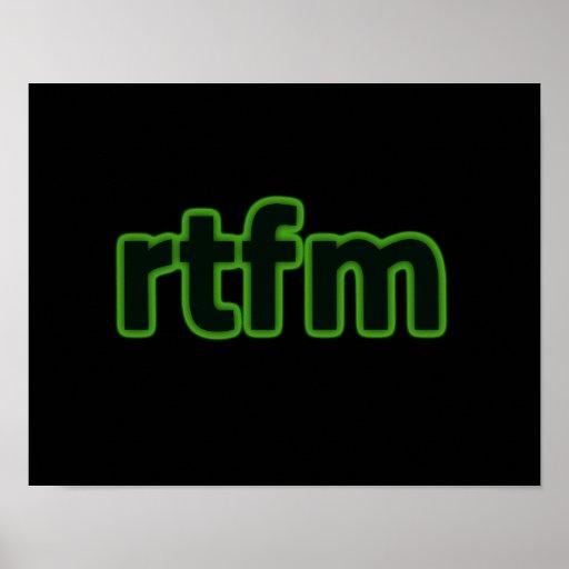 rtfm poster