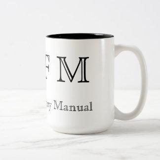 RTFM - Read The Factory Manual Coffee Mugs