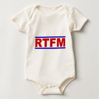 RTFM - Read the Fraging Manual Baby Bodysuit