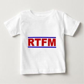 RTFM - Read the Fraging Manual Baby T-Shirt
