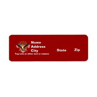 Rtn Address 2 Spirit Is Not Forgotten America Label