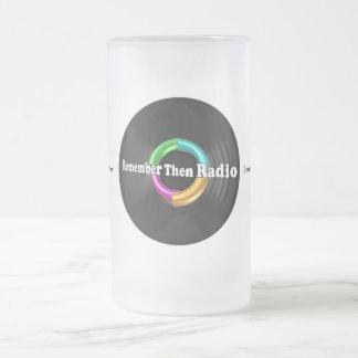 RTR Logo 16oz Frosted Glass Mug