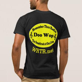RTR Logo Black / Yellow 2 Curved Print T-Shirt