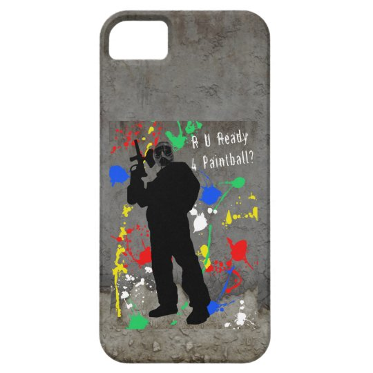 RU Ready 4 Paintball iPhone SE/5/5s Case