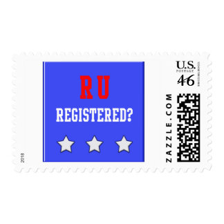 RU Registered Blue Stamp