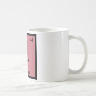 Ru - Rutabaga Vegetable Chemistry Periodic Table Coffee Mug