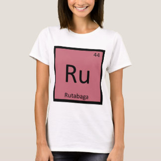 Ru - Rutabaga Vegetable Chemistry Periodic Table T-Shirt