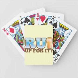 RU Up for it? BEER! Bicycle Card Deck